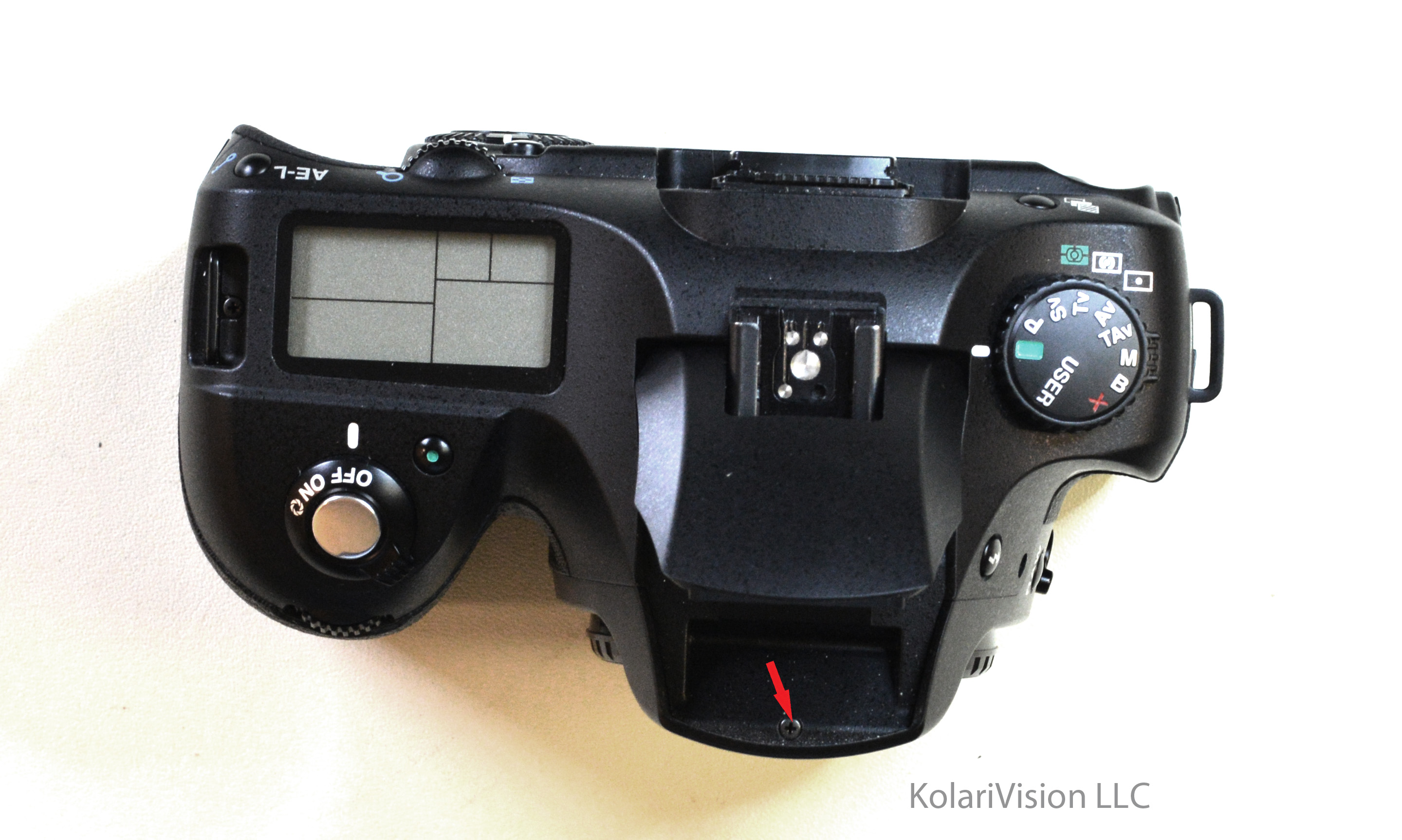 Nikon D90 Sensor Assembly And Main Circuit Board After Removal The