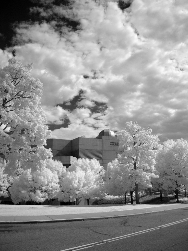 infrared conversion photo by Canon A3000 720nm Filter B&W #2