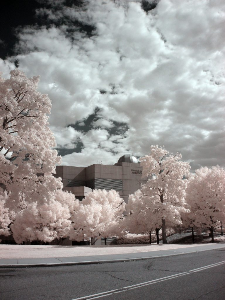infrared conversion photo by Canon A3000 720nm Filter
