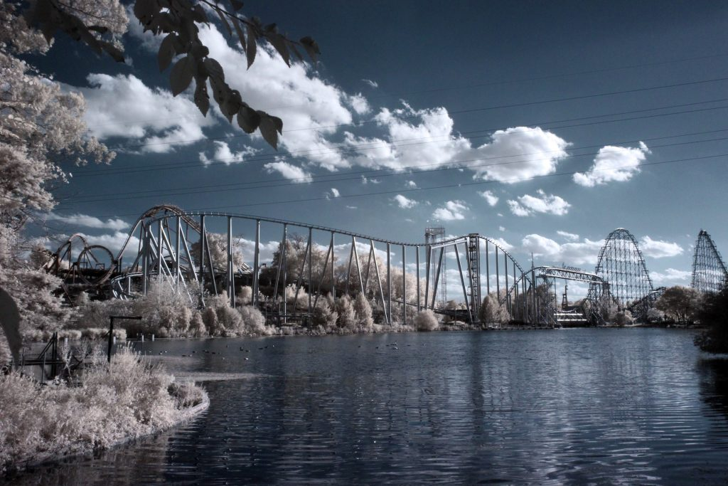 infrared conversion photo by Canon EOS-M 720nm Filter