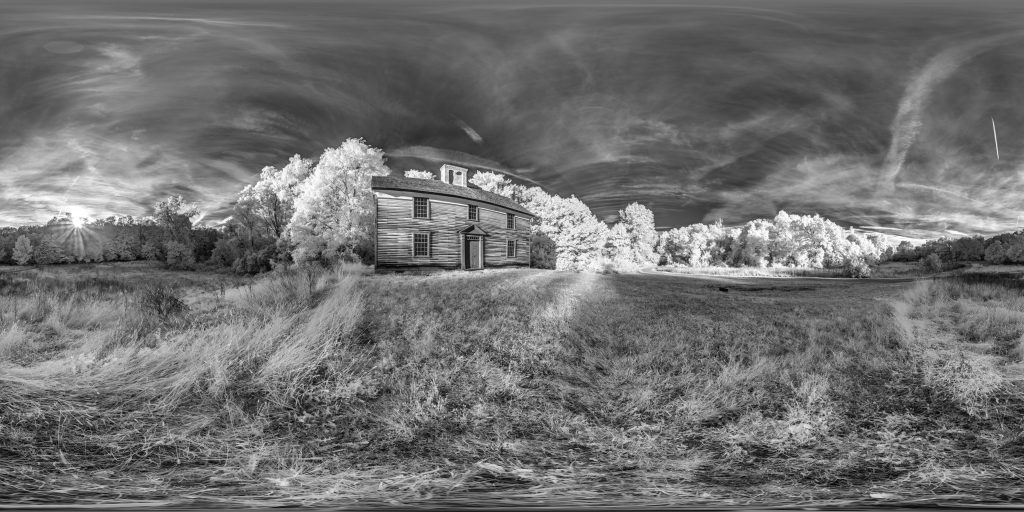 infrared conversion photo by Captain William Smith House Panorama