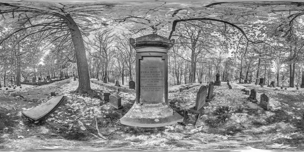 infrared conversion photo by Lieutenant Ezra Ripley Panorama
