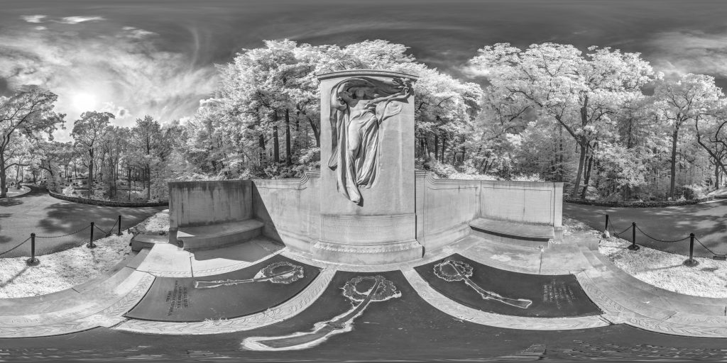 infrared conversion photo by Mourning Victory Panorama