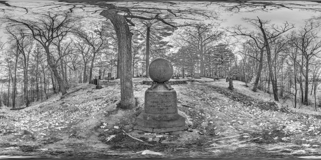 infrared conversion photo by Bigelows Are Having a Ball Panorama