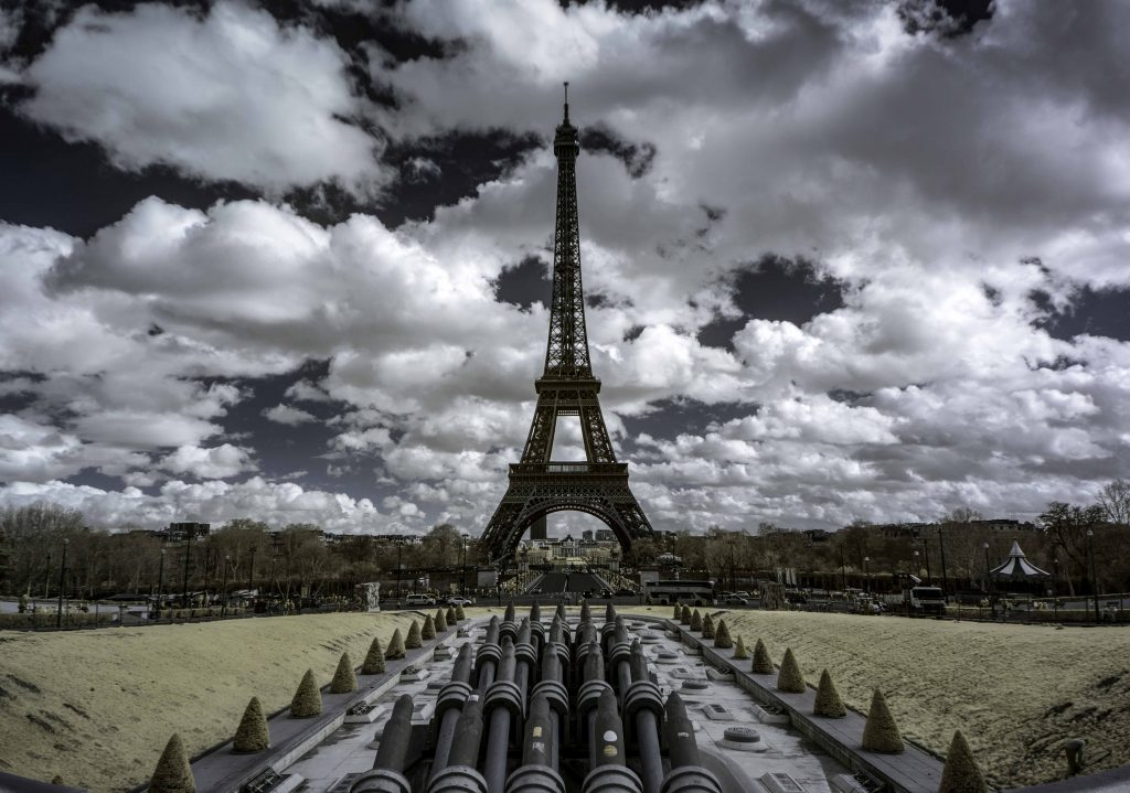 Featured photo - PARIS EIFELL INFRARED